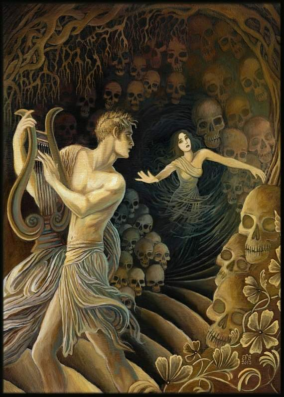 orpheus and eurydice comparison Orpheus and eurydice comparison in my essay i'm comparing the myth of orpheus and eurydice from the myths and their meanings book by max j herzberg and the website.