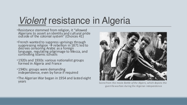 violence of decolonization The following are all the main reasons of why decolonization occurred the atlantic charter the atlantic charter was a document produced in 1941 that entailed the goals of the allied powers if they.