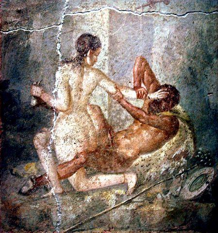 Секс хозяек с гладиаторами в древнем риме
