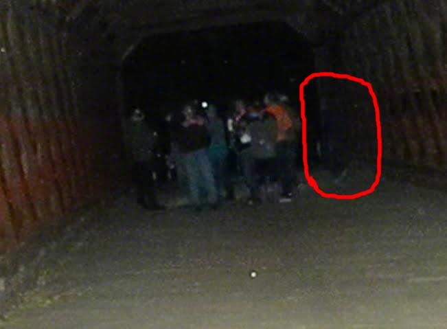 Настоящие фото привидениями