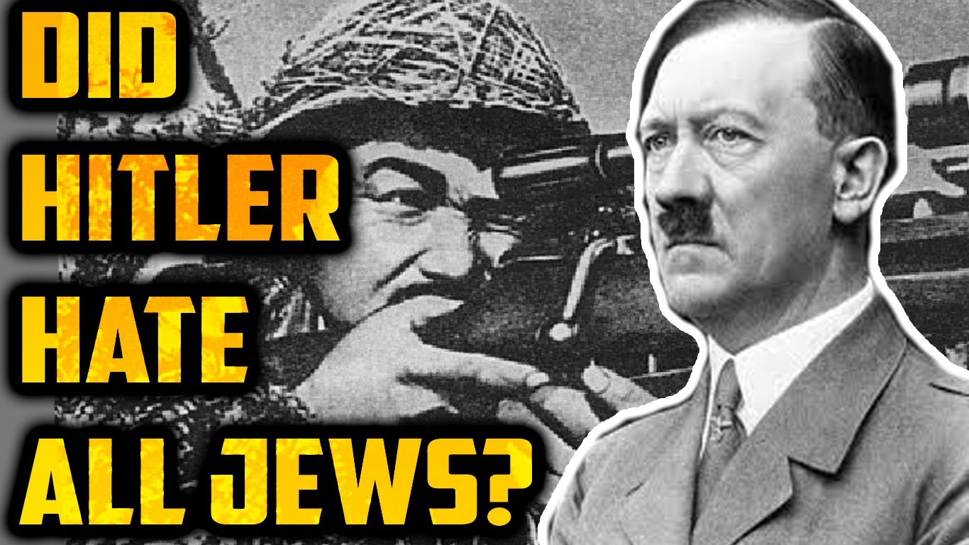 exploring why adoft hitler piked on the jews Adolf hitler famously refused to shake owens' hand, not wanting the humiliation of acknowledging a black athlete's brilliance, or so the story goes but the truth is that, after the first day.