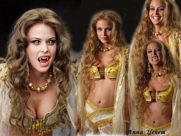 Самая сексуальная будущая вампирша